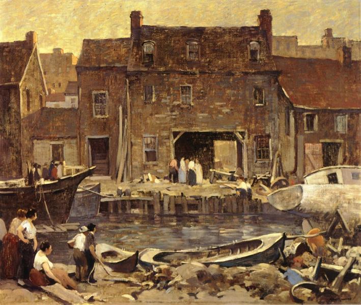 Ship Chandler's Row, 1926 - Robert Spencer