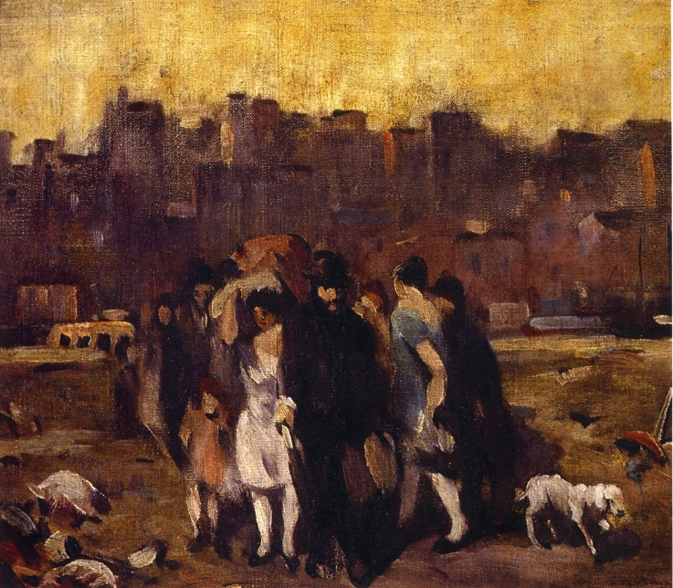 Study for The Exodus, 1927