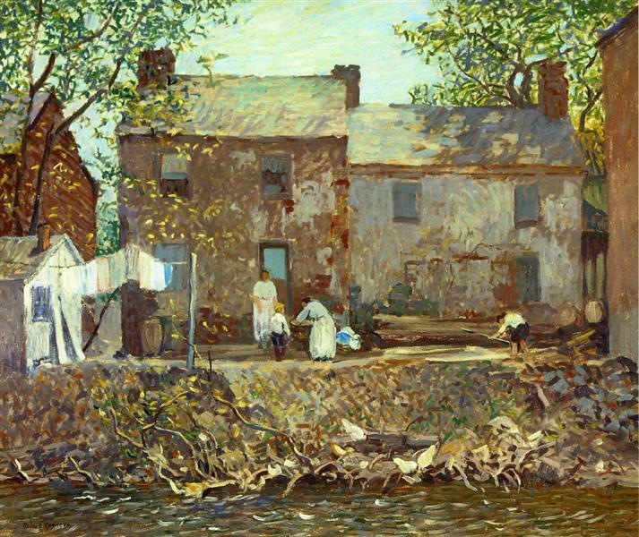 Summertime, 1920 - Robert Spencer