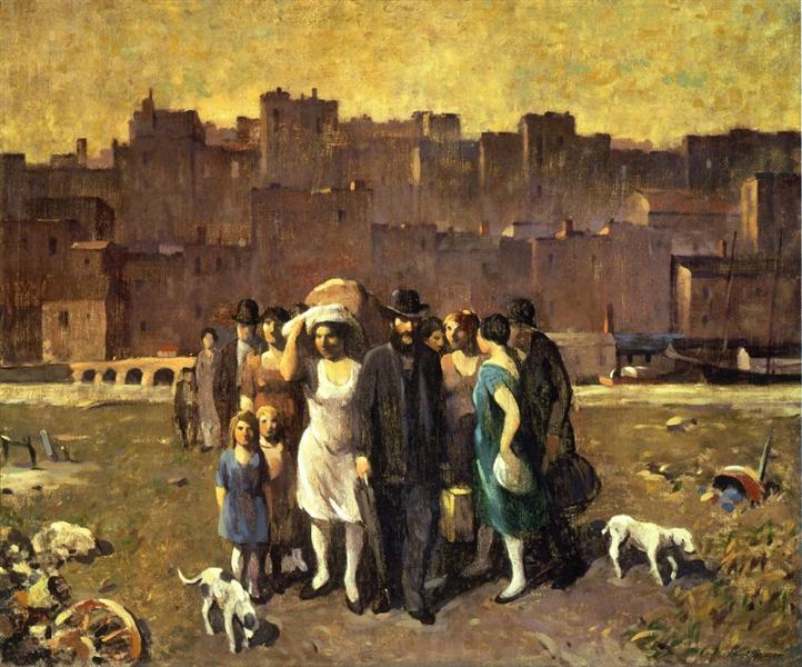 The Exodus, 1928 - Robert Spencer