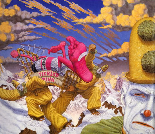 Art's Triumph over Substance, 2000 - Robert Williams