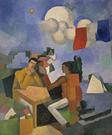 The Conquest of the Air, 1913 - Roger de La Fresnaye