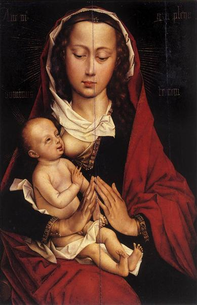 Madonna and Child, 1460 - 1464 - Rogier van der Weyden