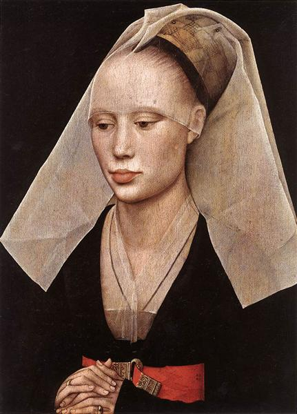 Portrait of a Lady - Rogier van der Weyden