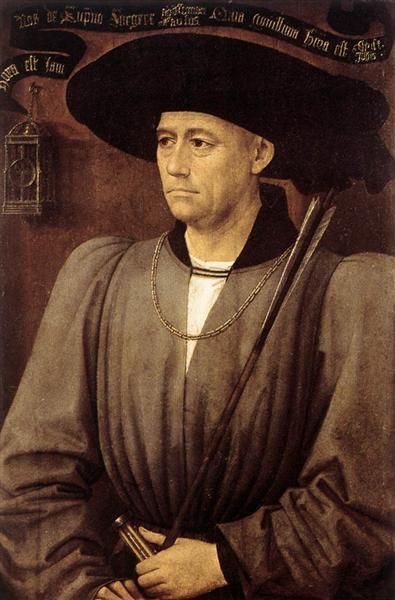 Portrait of a Man, c.1450 - Rogier van der Weyden