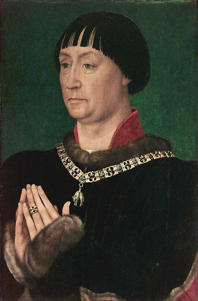 Portrait of Jean le Belliqueux, 1451 - Rogier van der Weyden