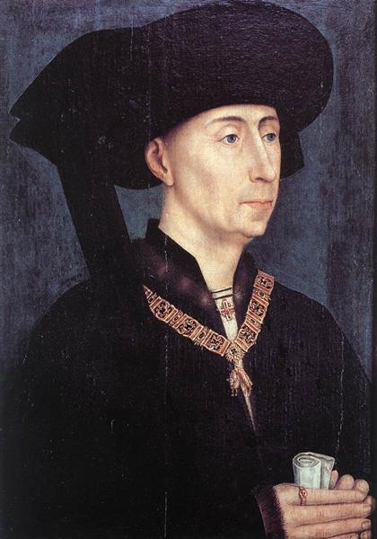 Portrait of Philippe le Bon, 1450 - Rogier van der Weyden