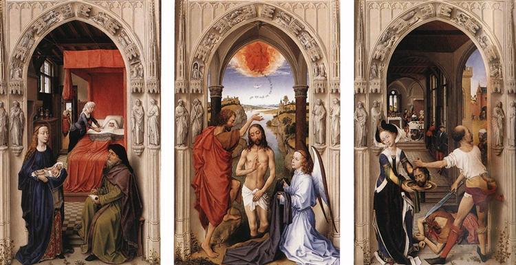 Saint John Altarpiece, 1455 - 1460 - Rogier van der Weyden