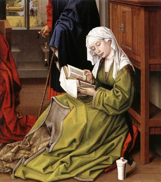 Die lesende Magdalena, 1445 - Rogier van der Weyden