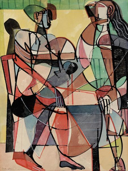 The Family, 1948 - Romare Bearden