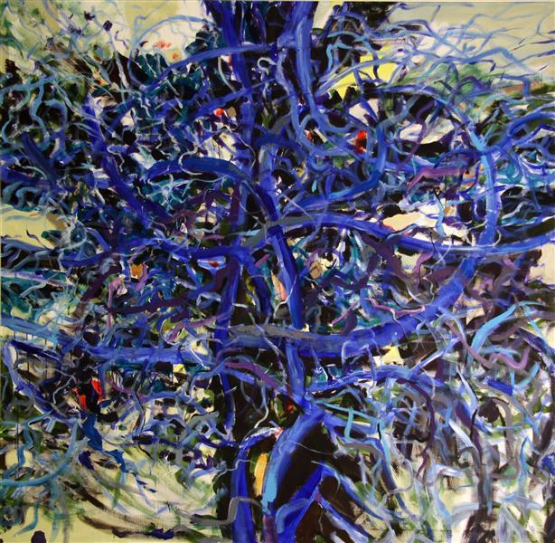 Blue Tree III, 2010 - Romul Nutiu