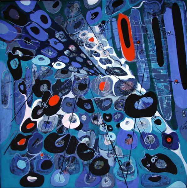 Modular Composition IV, 1966 - Romul Nutiu