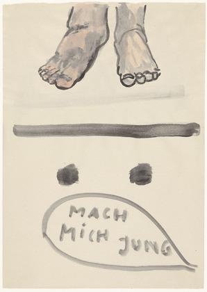 Untitled, 1983 - Rosemarie Trockel