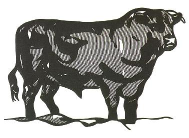 Bull I, 1973 - Roy Lichtenstein