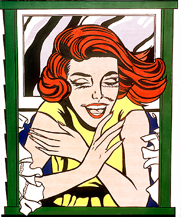 World's Fair mural, 1964 - Roy Lichtenstein