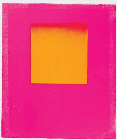Leuchtrot und gelb, 1965 - Rupprecht Geiger