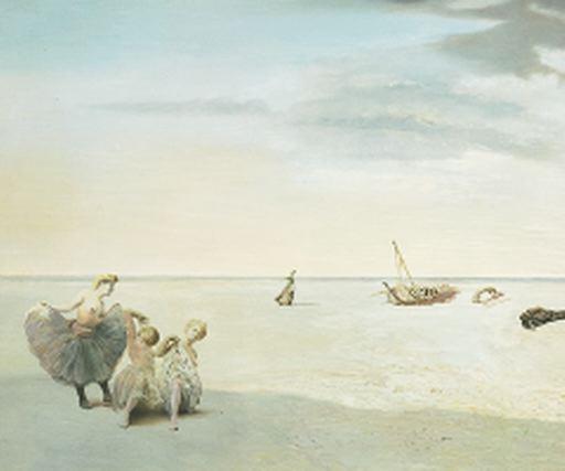 Forgotten Horizon, 1936 - Salvador Dali