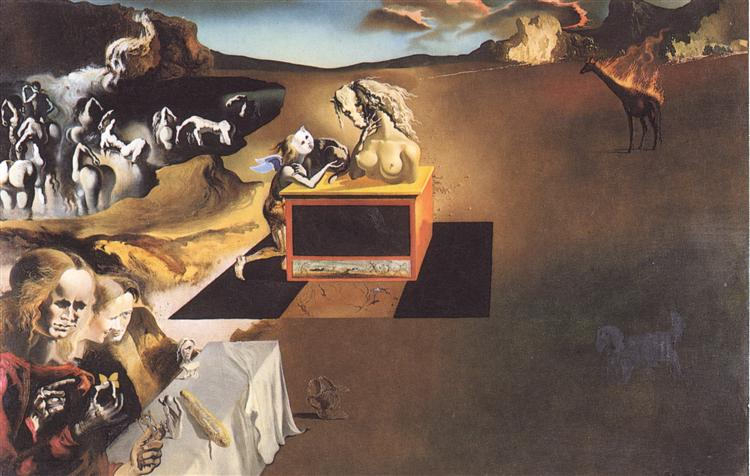 Invention of the Monsters, 1937 - Salvador Dali