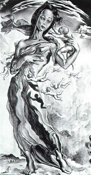 Madonna, 1943 - Salvador Dali