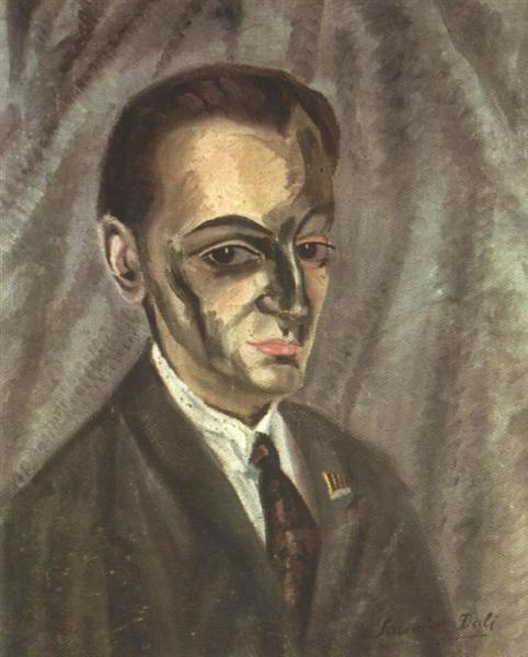 Portrait of Jose M. Torres, c.1920 - Salvador Dalí