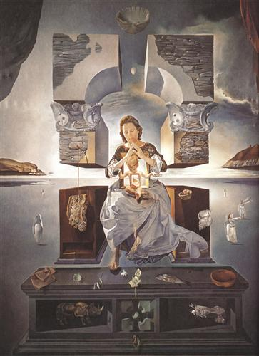 The Madonna of Port Lligat - Salvador Dali