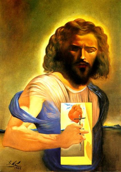 The Sacred Heart of Jesus - Dali Salvador