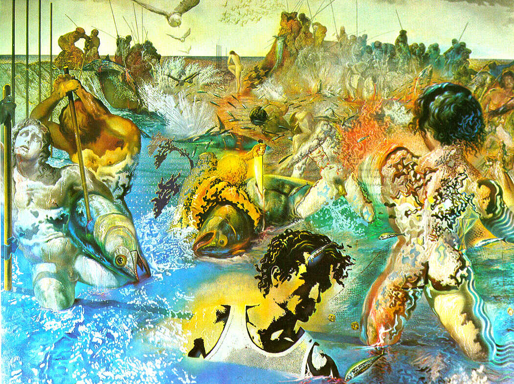tuna fishing 1966 1967 salvador dali