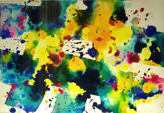 Sam Francis Famous Paintings