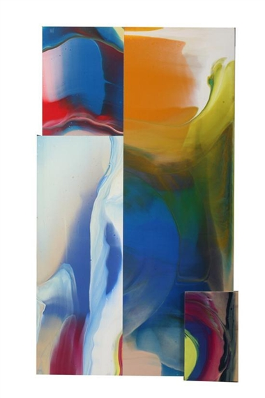 Lot and Square, 2007 - Sam Gilliam