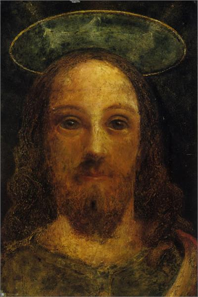 The Artist as Christ, 1833 - Сэмюэл Палмер