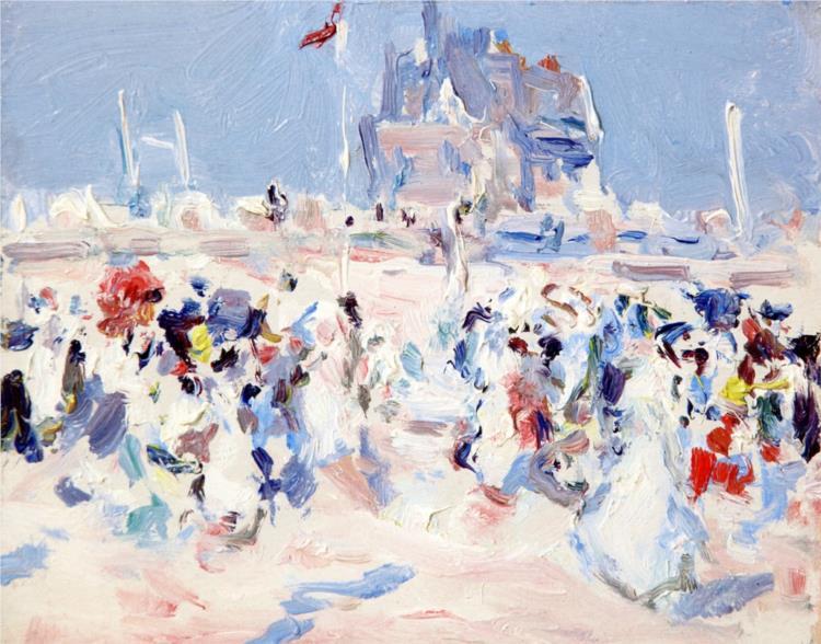 Paris-Plage, 1907 - Samuel Peploe