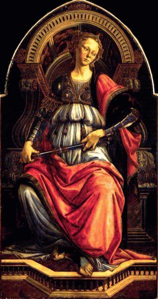 Fortitude, c.1470 - Sandro Botticelli