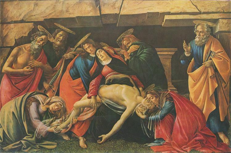 Pity, 1490 - Sandro Botticelli