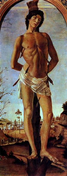 Sebastian, c.1473 - Sandro Botticelli