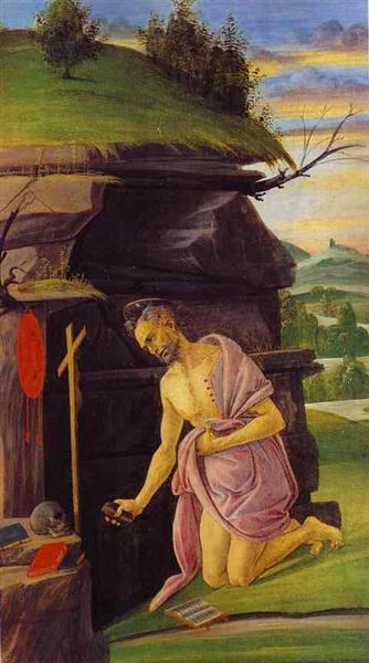 St.Jerome, 1498 - 1505 - Sandro Botticelli