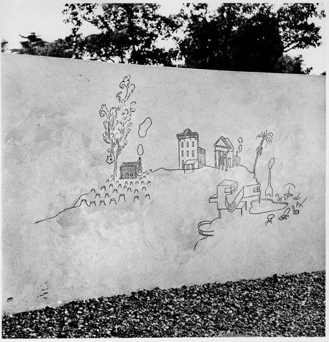 Children's Labyrinth, 1954 - Saul Steinberg