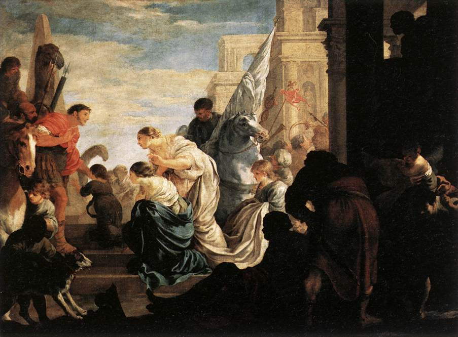 A Scene from Roman History, 1645