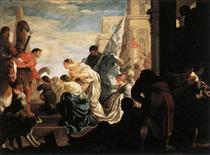 A Scene from Roman History - Sébastien Bourdon