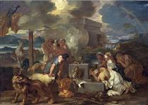 Sacrifice of Noah - Sébastien Bourdon