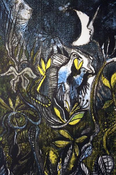Nachtvögel, 1965 - Serge Brignoni