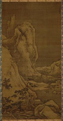 Landscape of Four Seasons: Winter - Sesshu Toyo