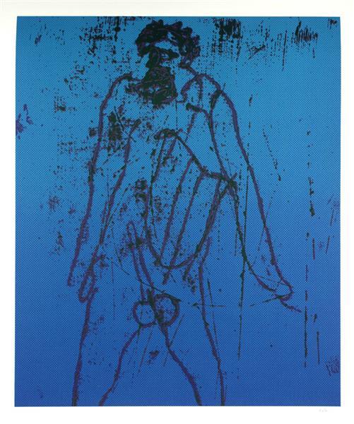 Imitation IV, 1972 - Sidney Nolan