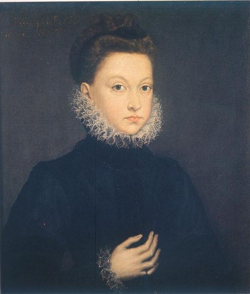 Infantin Isabella Clara Eugenia - Sofonisba Anguissola