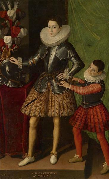 Portrait of Giuliano II Cesarini aged 14 - Sofonisba Anguissola