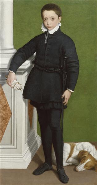 Portrait of Massimiliano Stampa - Sofonisba Anguissola