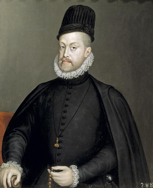 Portrait of Philipp II of Spain, 1570 - Sofonisba Anguissola