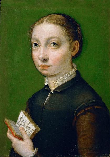 Self-portrait, 1554 - Sofonisba Anguissola