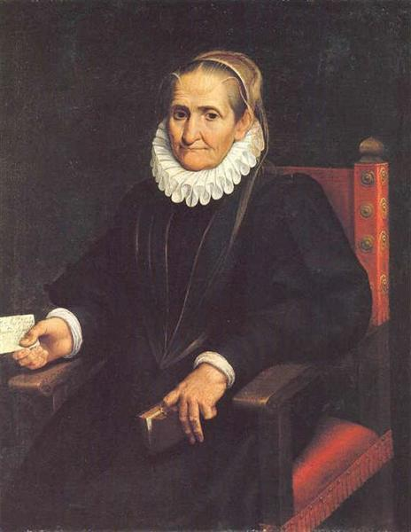 Self-Portrait - Sofonisba Anguissola