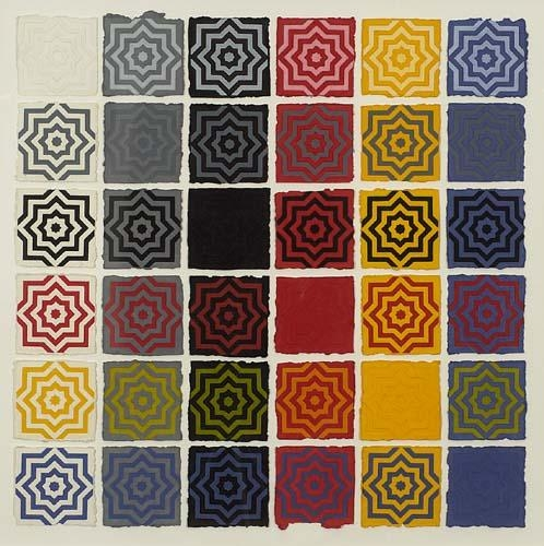 Stars 8 Pointed, 1996 - Sol LeWitt