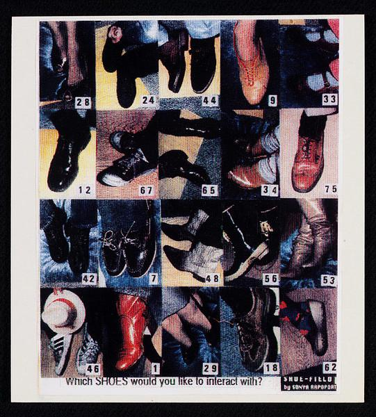 Shoe-Field, 1989 - Sonya Rapoport